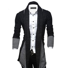 Size M-XXL Hot Jamickiki Spring Autumn Men's Sweater Patchwork Full Sleeve Cardigan Mens Clothing Maglione Uomo