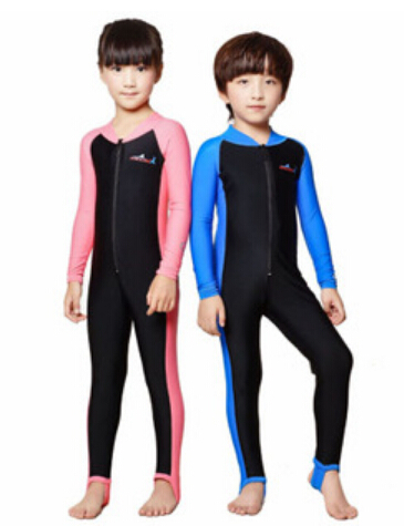 eae3c7efa Free Shipping swimming dress Kids boys girls snorkeling clothing children's  sun protection clothing child diving suit wetsuits-in Wetsuit from Sports  ...