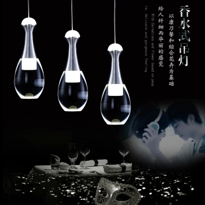 Fashion Wine Glass LED Droplight Modern Crystal Pendant Light Fixtures For Living Dining Room Hanging Lamp Home Lighting a1 master bedroom living room lamp crystal pendant lights dining room lamp european style dual use fashion pendant lamps