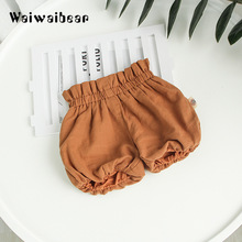 Waiwaibear Fashion Baby Solid  Short Pants For Boys And Girls 100% Cotton Knickers With Quality Assurance