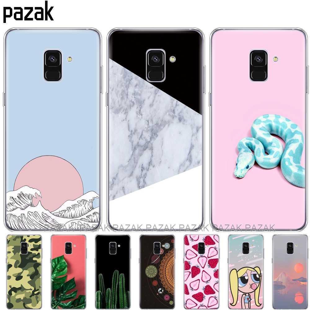 Силиконовый чехол для телефона для samsung Galaxy A8 2018 A530 A530F мягкий чехол из термополиуретана и силикона для samsung A8 плюс 2018 A730 A730F прозрачный чехол s