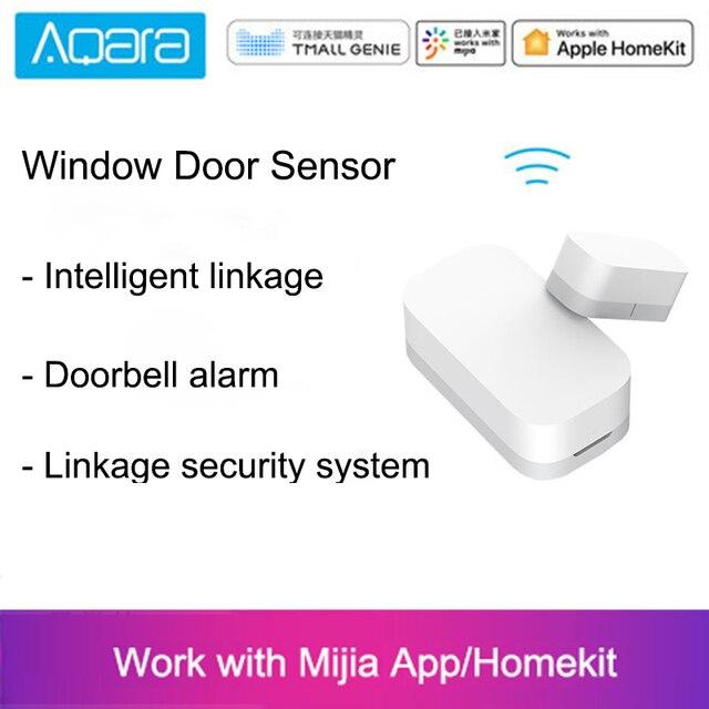 Xiaomi Aqara Door Window Sensor Smart home Mijia Zigbee Wireless Connection Smart Mini door sensor remote control Security alarm