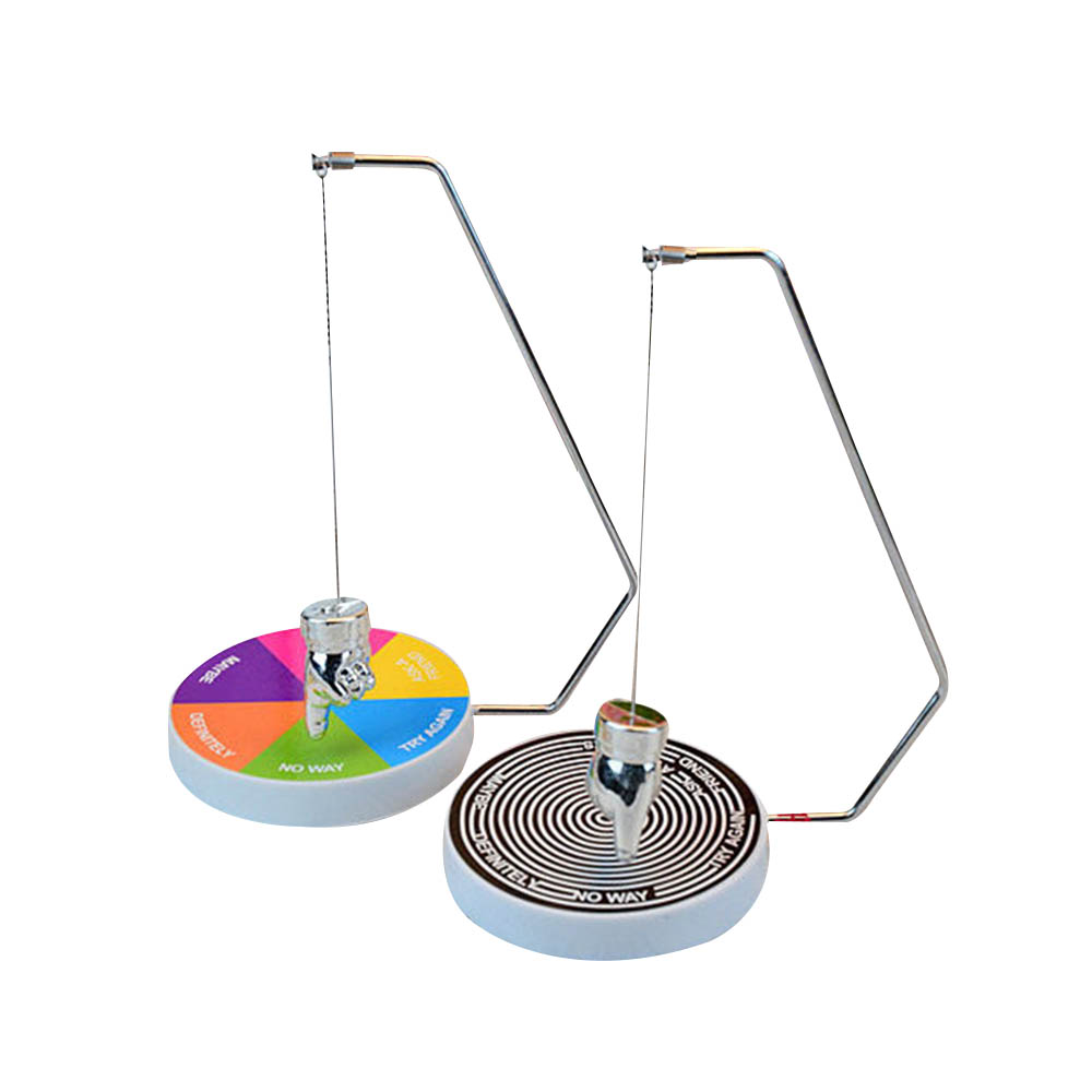 New Creative Metal Ball Finger Balance Ball Decision Maker Toys Pendulum Dynamic Desk Toy Magnetic Swinging