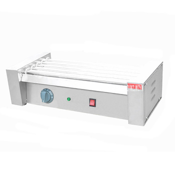 1PC High quality 5 rollers Sausage machine hot dog baked machine sausage heating machine dog roller 110/220V 1000W