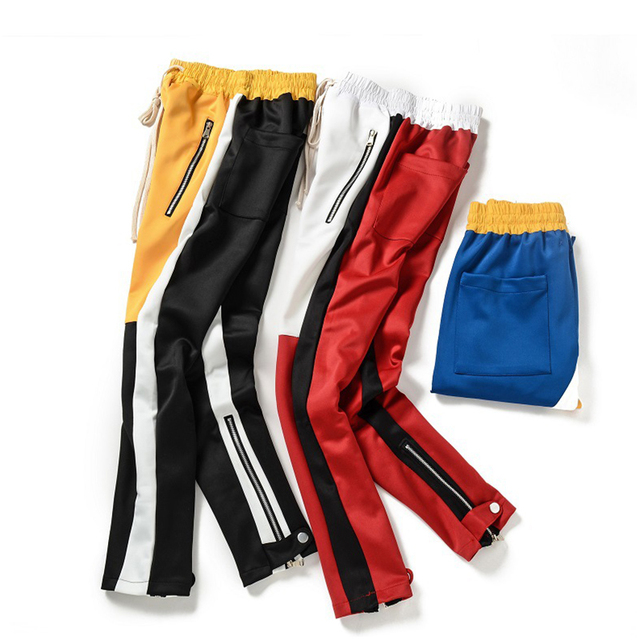 Kuma Stripped Colorblock Joggers 5