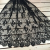 3Meter/lot 150cm wide Eyelashes lace trim off white black cothes lace fabric diy accessories