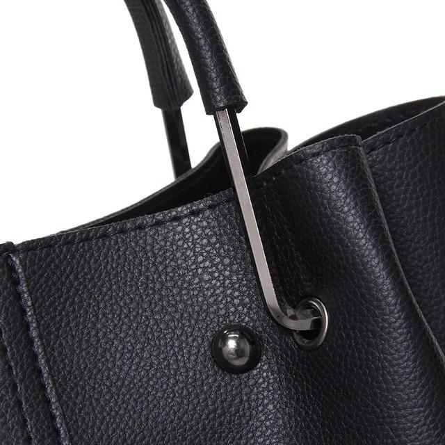 Luxe Handtassen Vrouwen Tassen Designer 2018 Nieuwe Mode Emmer Zakken PU Lederen Dames Tassen Beroemde Merken Tote Schoudertas Sac