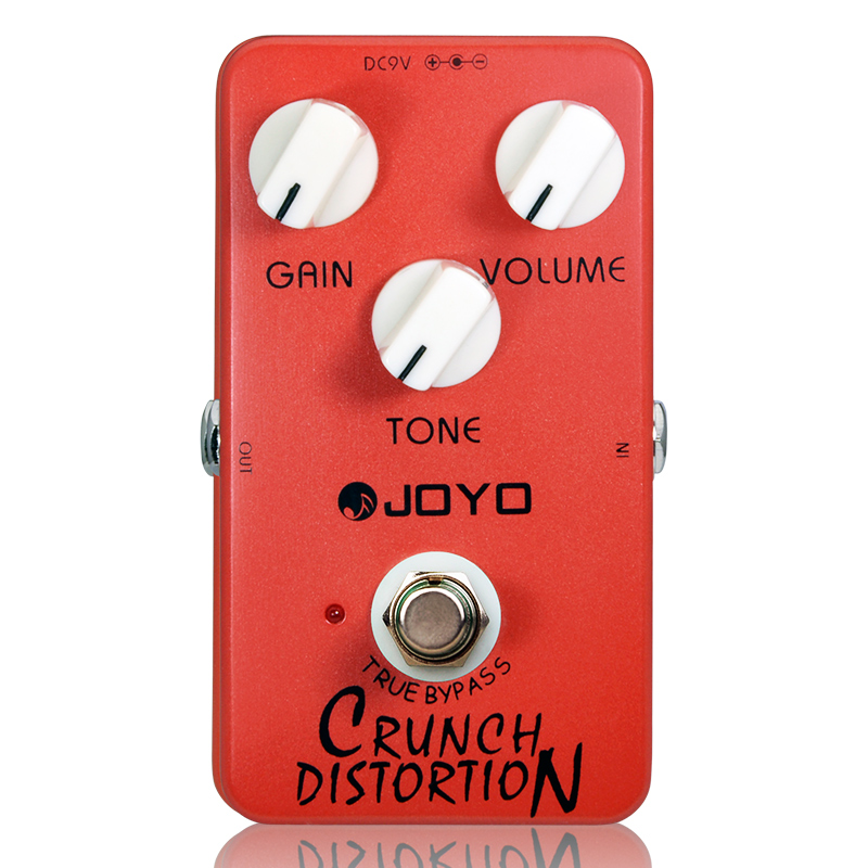 Купить с кэшбэком Joyo JF-03 Crunch Distortion Electric Guitar Effect Pedal Guitar Parts Accessory Guitar Effects