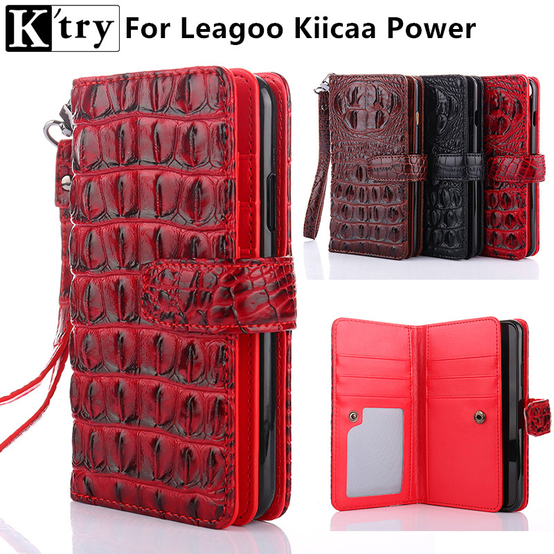 Leagoo Kiicaa Power Luxus Mode Pu-leder Fundas Abdeckung Fall Für Leagoo Kiicaa Power Coque
