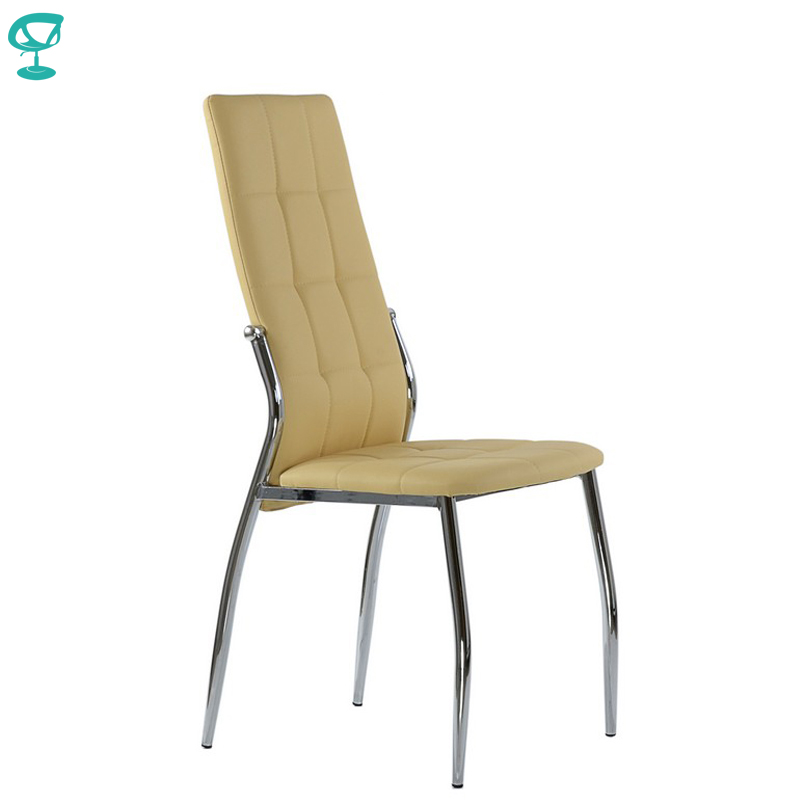 95310 Barneo S-68 Eco-leather Kitchen Furniture Breakfast Interior Stool Chair For Dining Beige Free Shipping In Russia