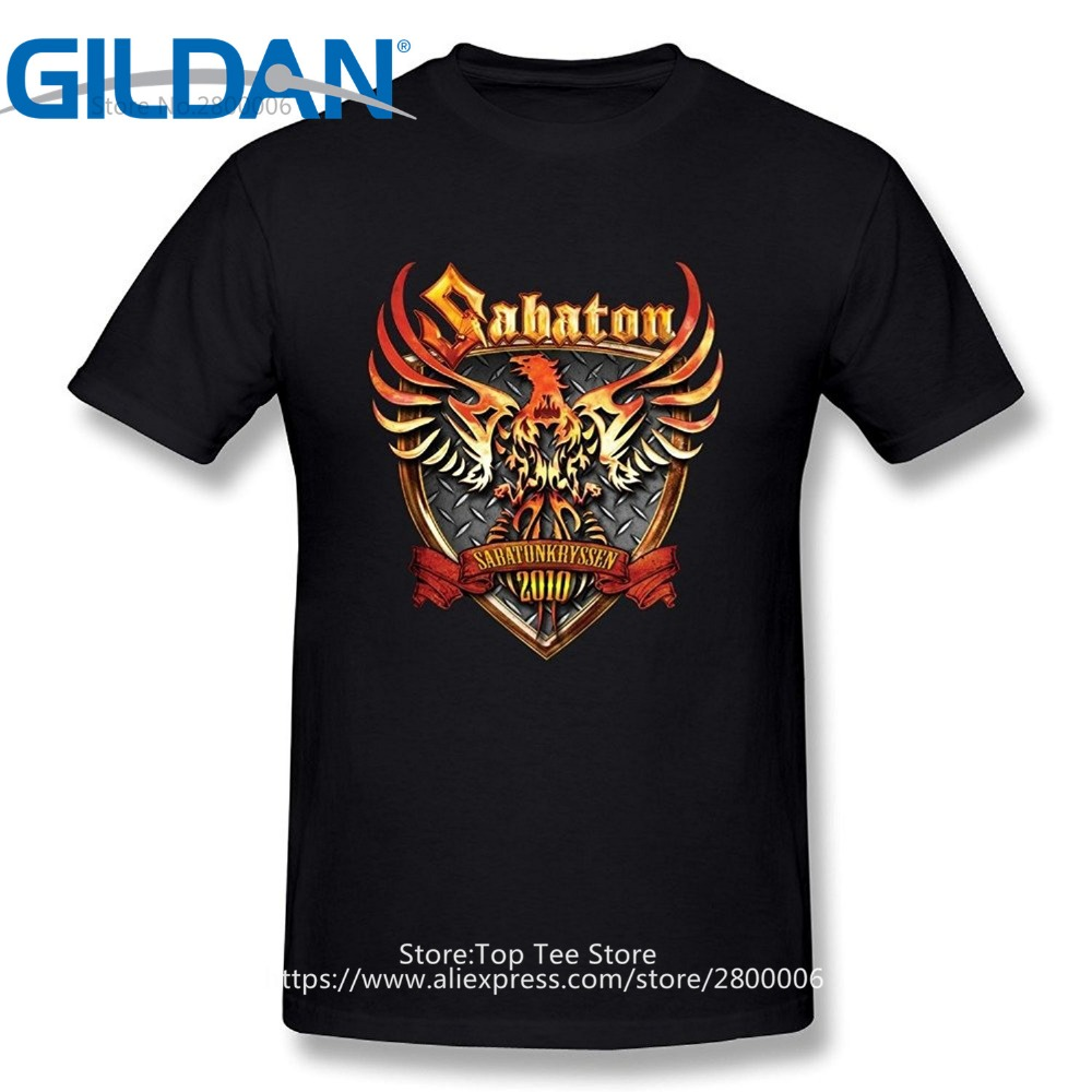 New Fashion Casual Cotton Short Sleeve Short Crew Neck New Men 39 S Sabaton Christmas Mens Shirt in T Shirts from Men 39 s Clothing