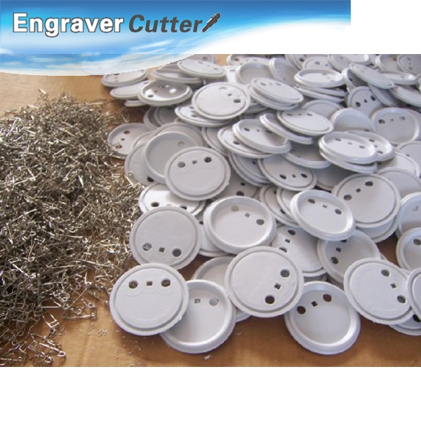 1000pcs 44mm Blank Pin Badge Button Supplies for Badge Maker Machine