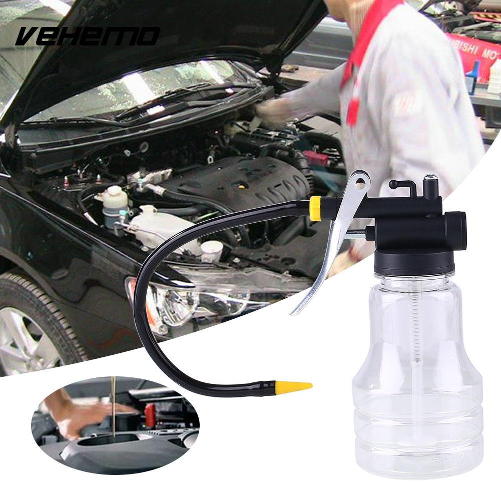 Buy Vehemo Pump Oil Can pot Gun High Pressure Oilman Lubrication Tip New 250ml PO02