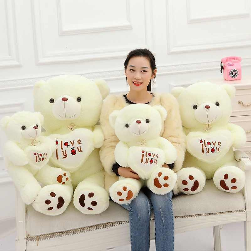 "40cm Large Teddy Bear /""Love You/"" Valentine Birthday Gifts Present Soft Plush Toy"