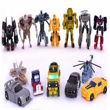 1pcs lot Original Box Transformation Toys Mini Robots Action Figures Toys Classic Robot Cars Toys Brinquedos