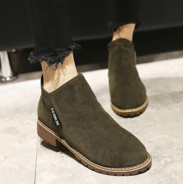 Autumn Winter women Boots Classic Zipper shoes snow boots 1