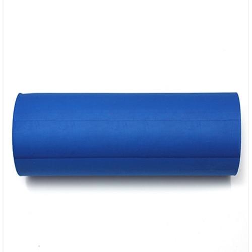Smooth Floating-Point Yoga Pilates Fitness Gym Exercise Foam Roller EVA Physio blue