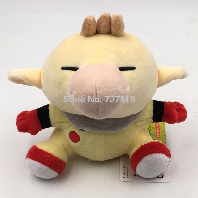 """New Pikmin Game Protagonist Little Buddy Cute Captain Olimar 6.5"""" Plush Figure Sitting Stuffed Doll Soft Kids Toys  Xmas Gift"""