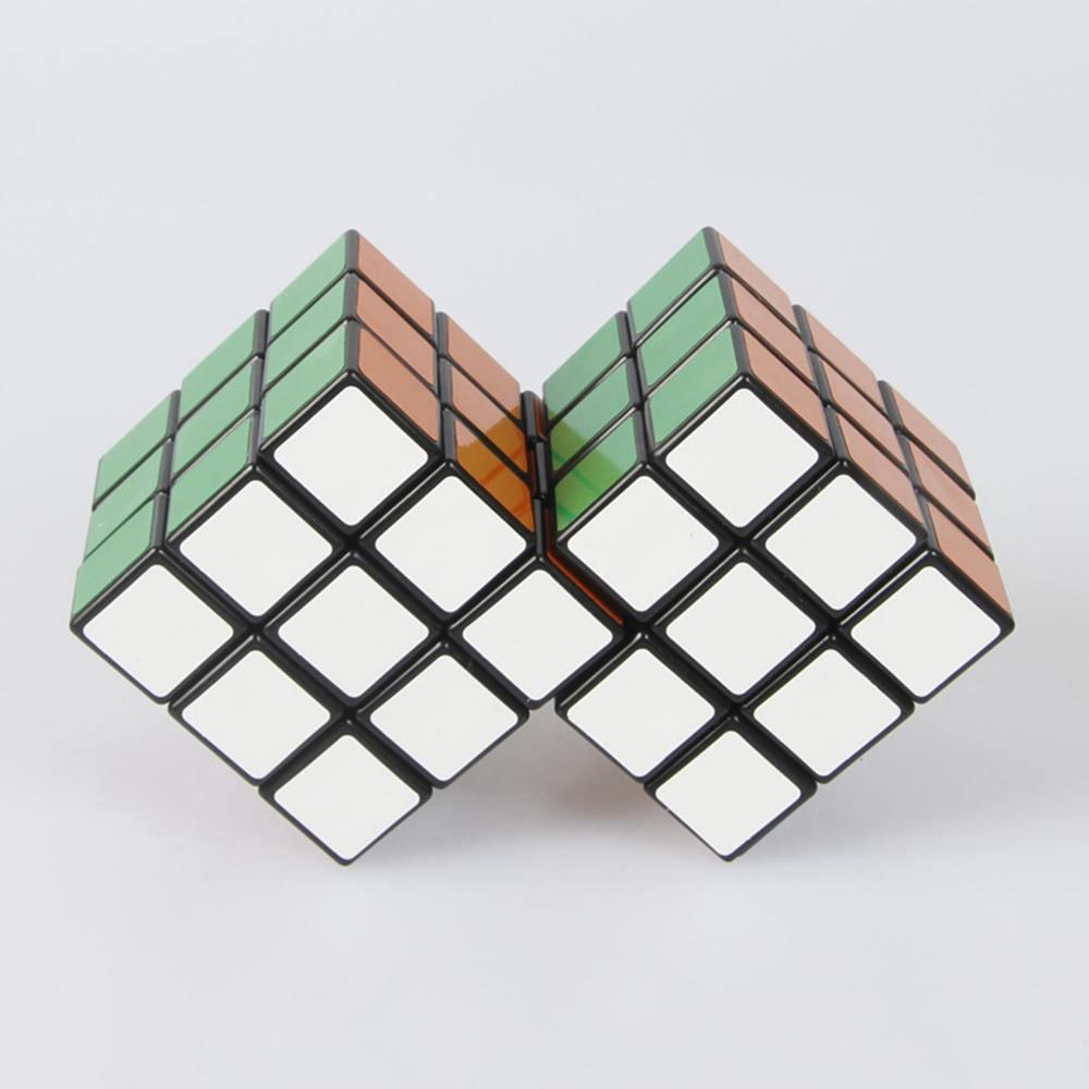 2 in 3 Conjoint Siamese font b Magic b font font b Cube b font 3x3x3