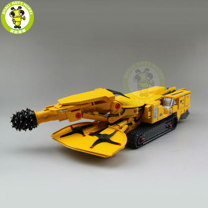 1/35 XCMG EBZ200 Whirl Excavator Drill Construction Machinery Diecast Model Car Toy Hobby 1 35 xcmg benz construction mounted concre truck diecast metal construction vehicles toy