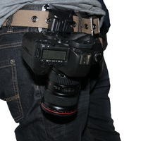 Поясной ремень для камеры  БЫСТРОРАЗЪЕМНАЯ подвеска с пряжкой для DSLR камеры