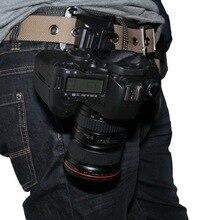 キャプチャカメラウエストベルトホルスタークイックリリースハンガーバックル用デジタル一眼レフカメラ