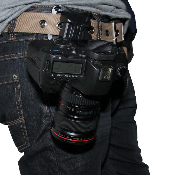 Capture Camera Waist Belt Holster Quick Release Hanger Buckle for DSLR Camera