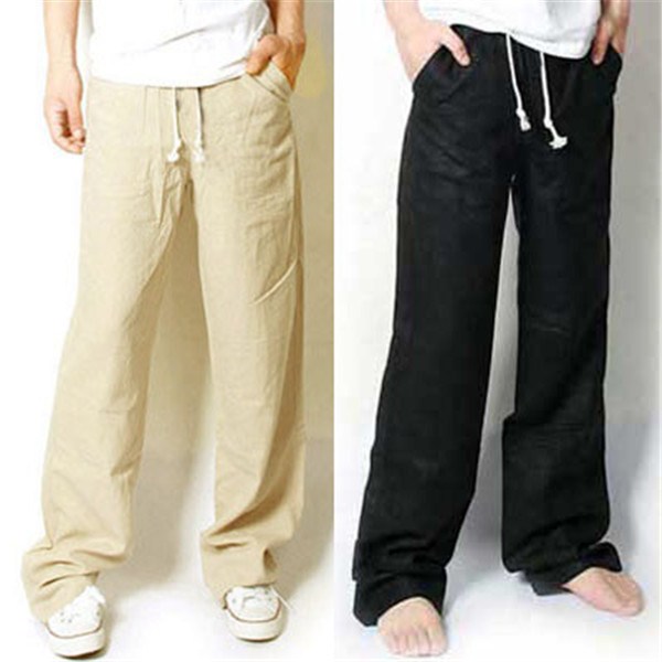 Aliexpress.com : Buy 2015 summer men's linen pants for men Korean ...