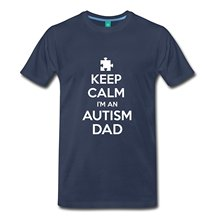2017 casual popular Autism Dad Men's Premium T-Shirt 100% cotton male tops tee hot sell fashion O-Neck T Shirt
