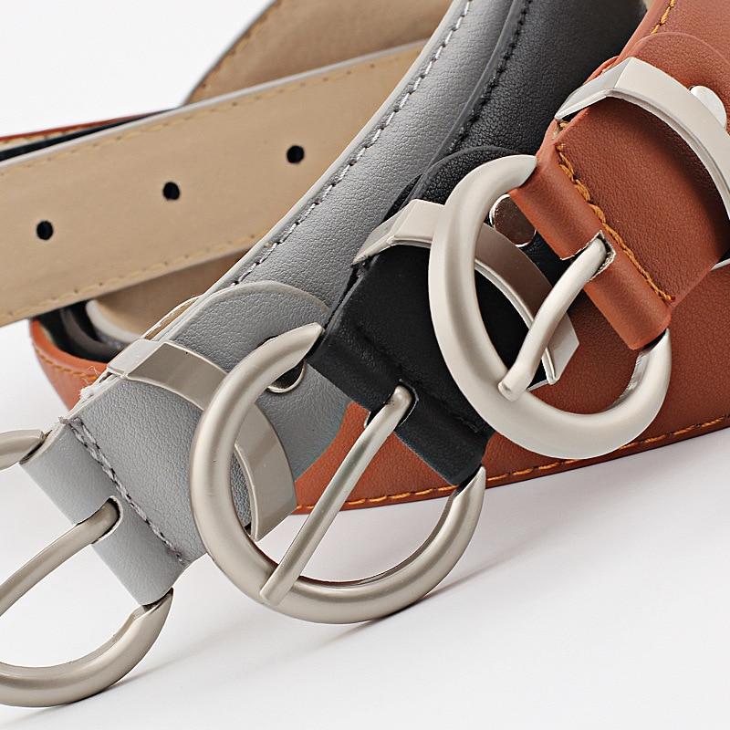 2019 New High Quality Female Belt Fashion Women PU Belt 645