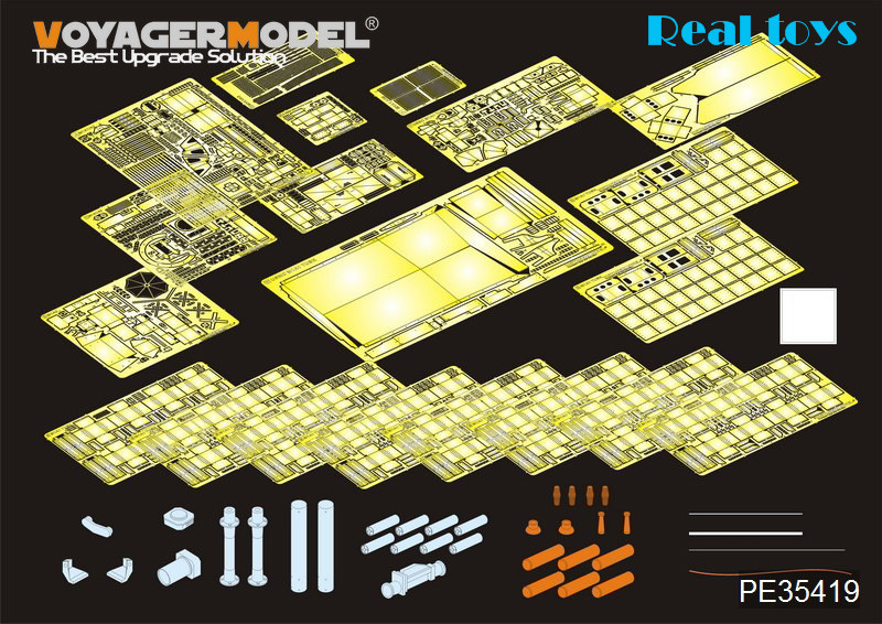 Voyager PE35419 1/35 Modern US M1A2 TUSK2 Abrams Detail Set for Dragon #3536