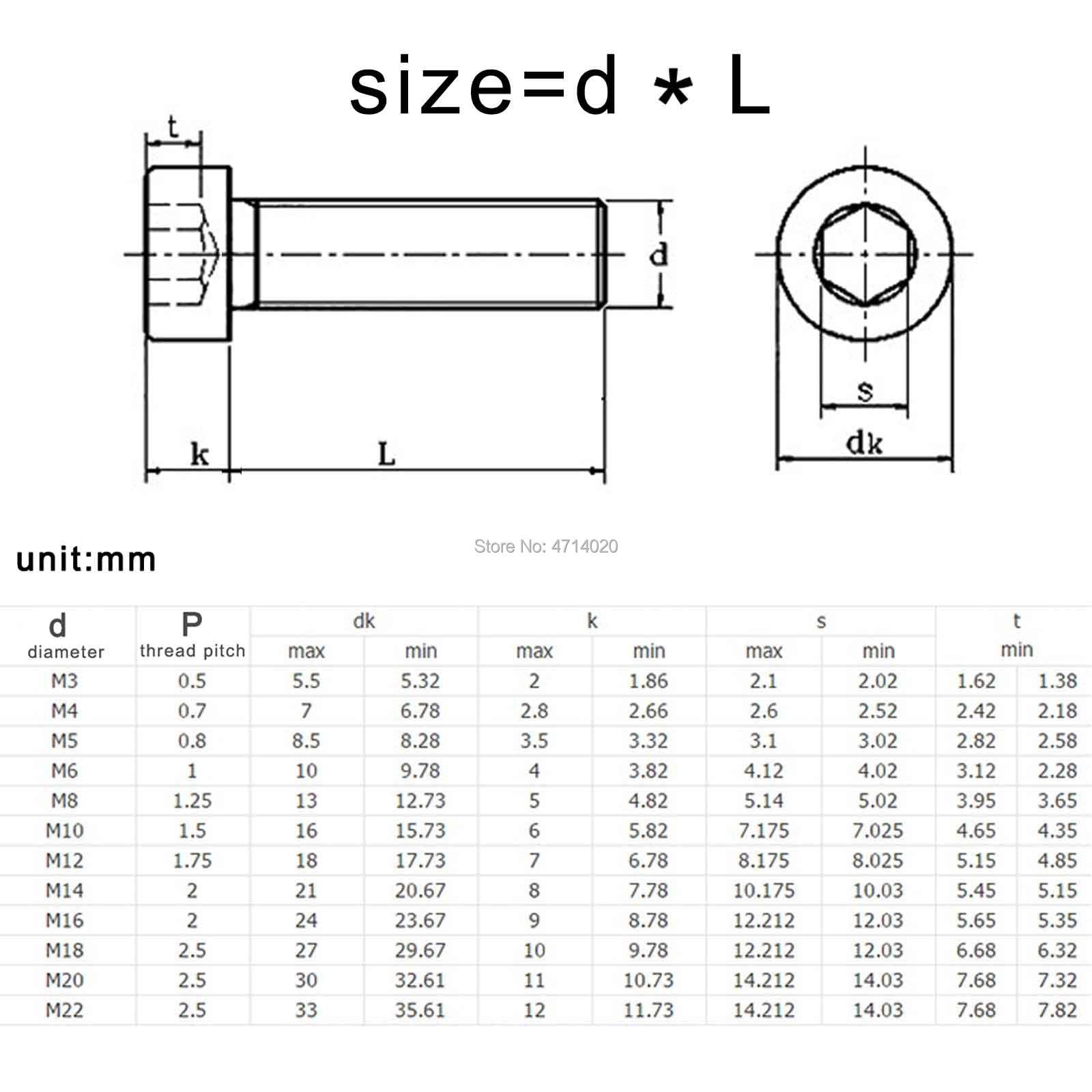 M5 X 16 INOX pulsante Testa Allen Bulloni 20 10/% GRATIS