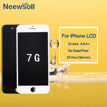 10pcs/lot For iPhone 7 LCD With 3D Force Touch Screen Assembly  Replacement Display No Dead Pixel Free Shipping excellent product 5pcs lot 2016 no dead spot for samsung j3 lcd display with touch screen replacement free dhl shipping