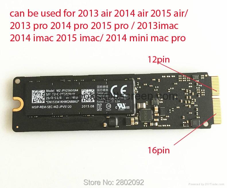 Original 128GB SSD For 2013 2014 2015 Macbook Air  2013 2014 2015 Macbook imac 2013 2014 2015 pro 2014 mini  SOLID STATE DISK