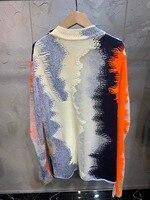 19 Ранняя весна цвет соответствия ажурный свитер 0304
