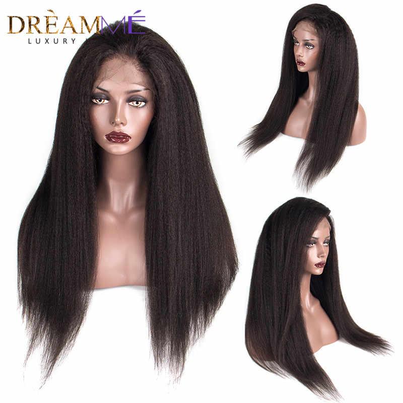 13x6 бразильский странный прямые Синтетические волосы на кружеве натуральные волосы парики предварительно сорвал с волосы младенца Волосы remy отбеленные узлы для черный Для женщин