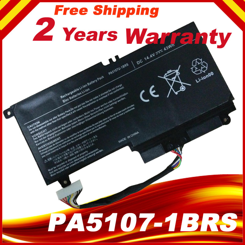 PA5107U-1BRS PA5107U Laptop Battery for Toshiba Satellite L50 L50-A S55 P55 L55 L55t h000053270 vgsg for toshiba satellite s50 s50 a s55 s55 a l50 l50 a laptop motherboard