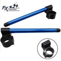 Universal 31mm 54mm CNC Adjustable Motorcycle Riser Clip On Ones Handlebar Fork Handle Bar 31mm 33mm