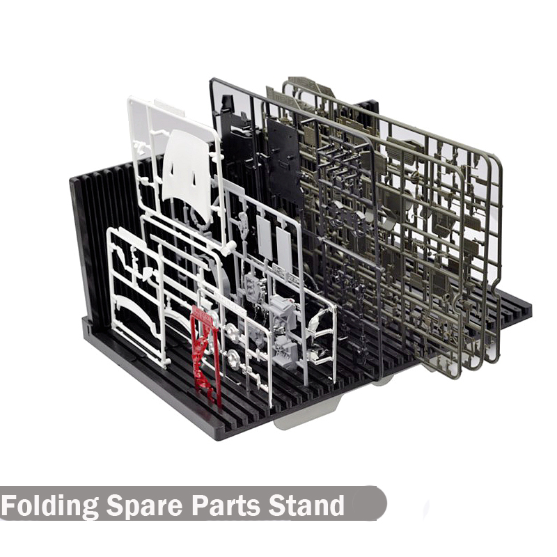 цена на Model Spare Parts Stand Folding Spare Parts Shelf Assembled Model Parts Plate Storage Models Hobby Special Tools Accessory