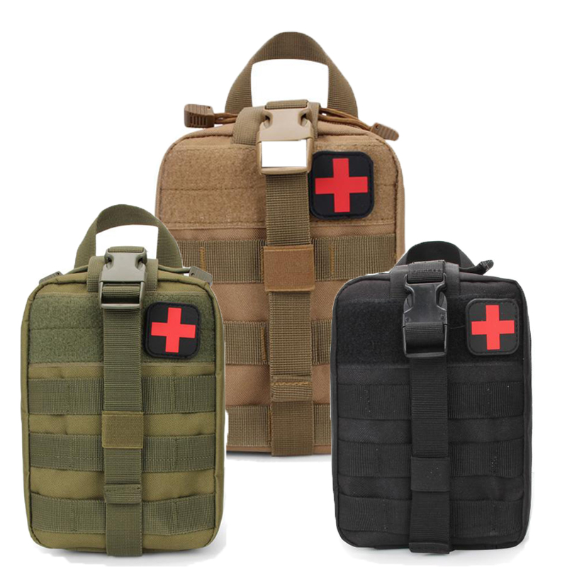 Mini Military Camping Travel First Aid Kit Tactical Medical Bag Multifunctional Waist Pack Climbing Emergency Case Survival Kit