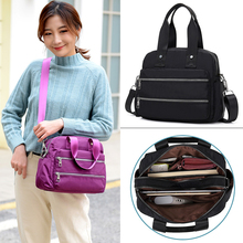 Women Crossbody Bags High quality Nylon Handbag Casual Large Shoulder Bag Fashion Capacity Tote Waterproof Big Messenger Bag