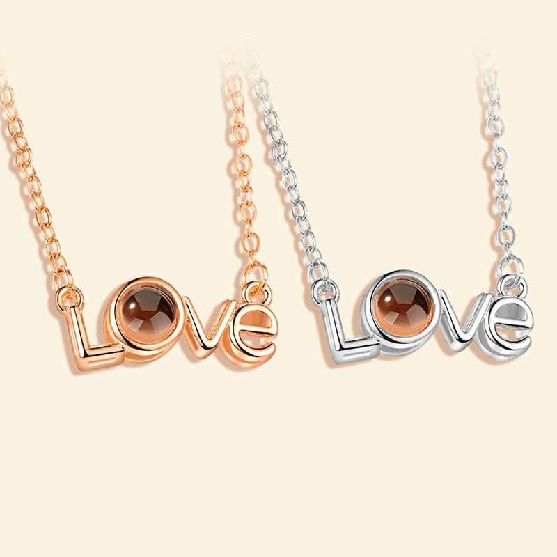 Wedding Gift For Friend Female: Bridesmaid Gifts Wedding & Party I Love You Pendant
