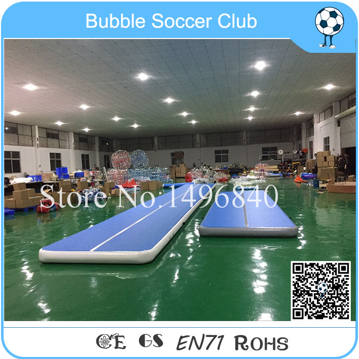 Free Shipping High Quality 10x2m Inflatable Jumping Air Tumble Track/Inflatable Sport Equipment/Inflatable Gym Airtrack For Sale sea shipping inflatable car or bicycle go race track inflatable race track for sale