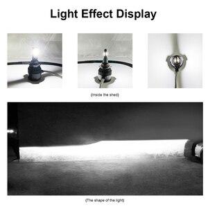 Image 5 - LSlight Phares الحنطور أمبولة LED H4 H7 H11 H1 H8 9005 9006 HB2 HB3 12V 60W 6000K 12000LM توربو مصباح أمامي LED للسيارات ضوء لمبة