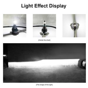 Image 5 - Lslight pharesボアチュールアンプルled H4 H7 H11 H1 H8 9005 9006 HB2 HB3 12v 60 ワット 6000 18k 12000LMターボ車のヘッドライトled電球