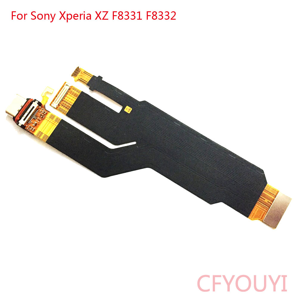 For Sony Xperia XZ F8331 F8332 USB Dock Connector Charging Port Flex Cable
