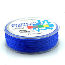 Hot sale 8 Strands Braided Fishing Line 100m Super Strong Japanese Braided Line Multifilament PE Braid Line
