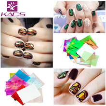 Qt Nail Holographic DIY Nail Art Broken Glass Foil