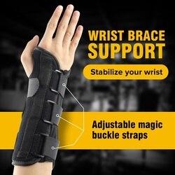 1 stücke Karpaltunnel Medizinische Handgelenk Unterstützung Brace Unterstützung Pads Verstauchung Unterarm Schiene für Band Strap Schutz Sicher Handgelenk Unterstützung