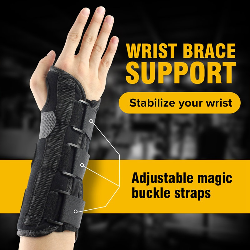 1Pcs Carpal Tunnel Medical Wrist Support Brace Support Pads Sprain Forearm Splint for Band Strap Protector Safe Wrist Support